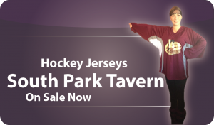 South Park  Tavern Hockey Jersey